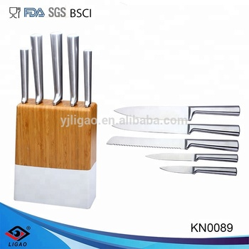 5 Pieces Stainless Steel Hollow Kitchen Knife Set