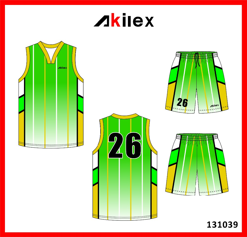 2016Wholesale sublimaiton Basketball uniform