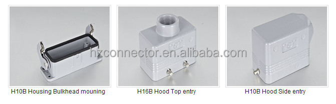 Industrial Electrical M3 HA-010-M Harting Heavy Duty Connector