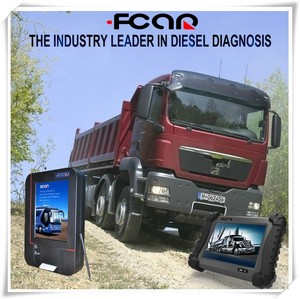FCAR F3-D heavy duty truck scanner for diesel Bosch, Cummins, Caterpillar, Denso, Perkins, Doosan,etc
