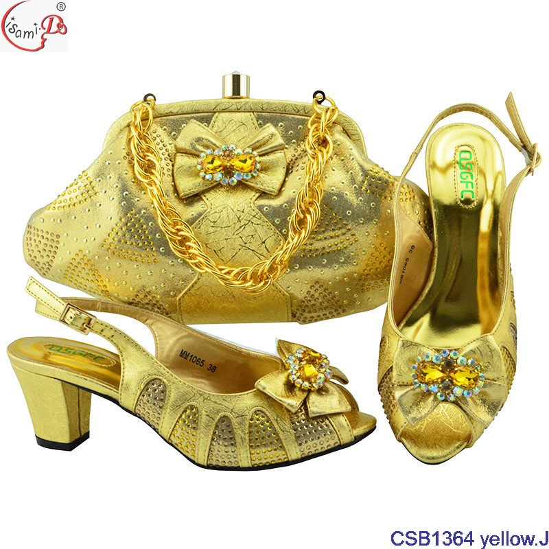women yellow bag heel shoes red and for shoes high hot and selling bag party 2018 w1qBzq