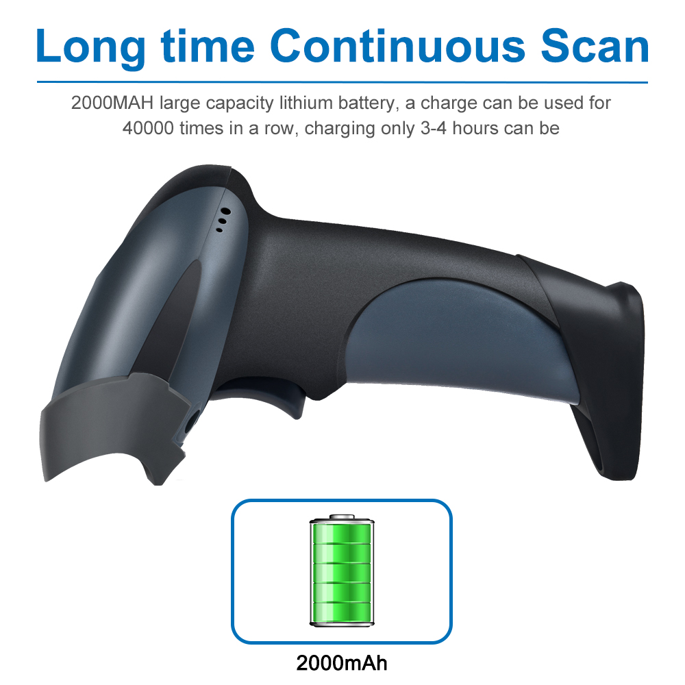 Wireless CCD Bluetooth Barcode Scanner Cheap 1D Barcode Scanner Factory Price NT-M6