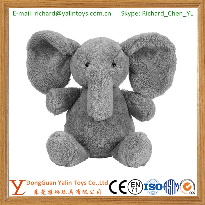 Cute Soft Baby Elephant Doll Stuffed Animals Plush Pillow Kids Toy