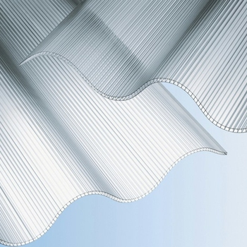 polycarbonate multiwall corrugated sheets for roofing and skylight, 100% water proofed