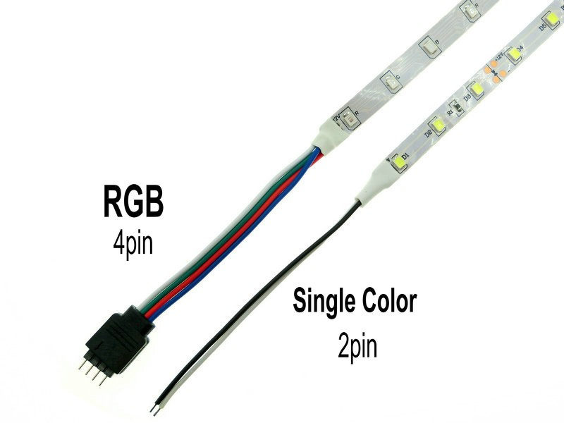 FEICAN LED Strip 2835 12V 300 LEDs Flexible LED Light RGB White Warm White Blue Green Red Yellow 5m