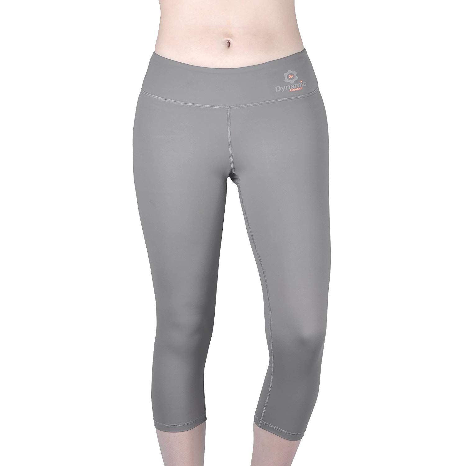 b444b02e86 Get Quotations · Dynamic Athletica Compression Capri Leggings For Women/Slimming  Yoga Pants/Tights & Workout Clothes