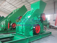 China Famous Glass Recycling Machine, Ruiguang Two Stage Crusher