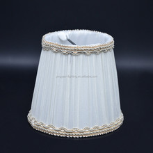 fabric chandelier lamp shade pure color simple design