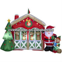 Christmas Decoration Supplies, Indoor Christmas Decoration Item, Inflatable snowman