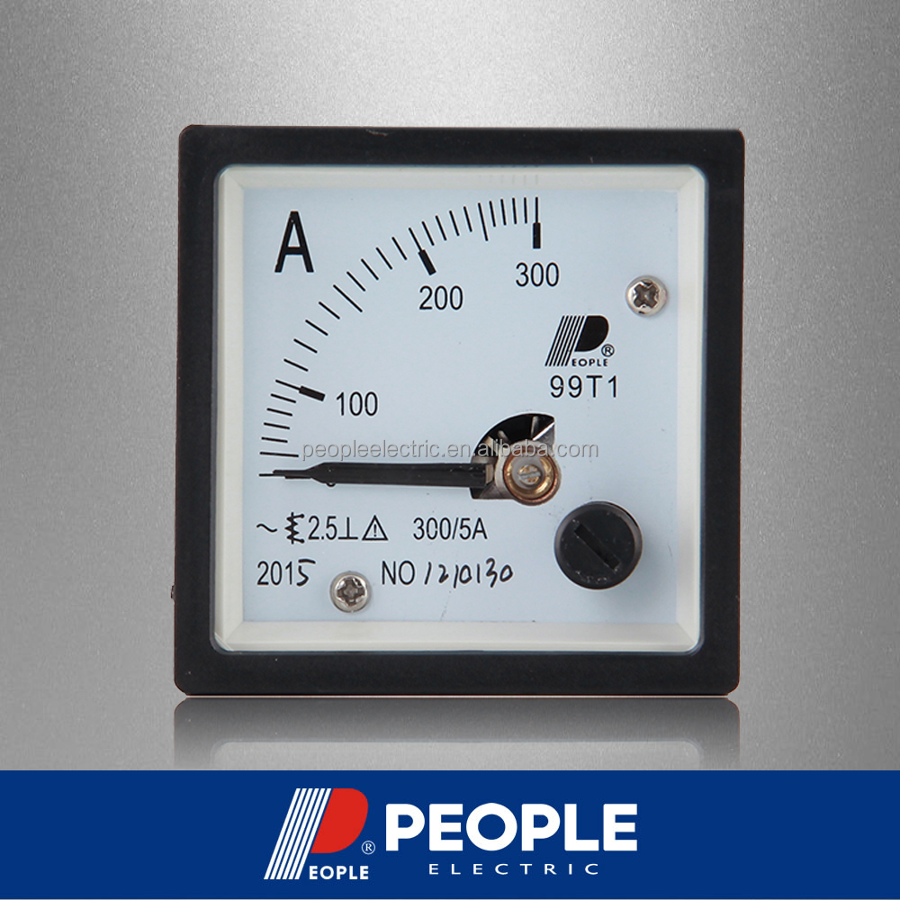 PEOPLE 99T1-A 300/5A 48mm*48mm Analog panel meter AC Ammeter, ampere meter