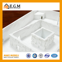 hotel 3d building model making for real estate and construction
