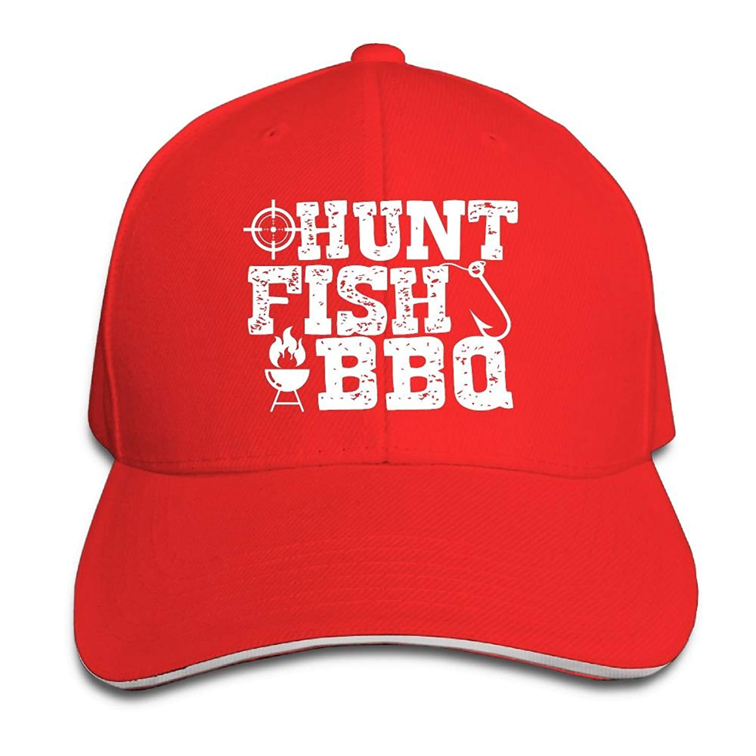 Get Quotations · Kidhome Unisex Adjustable Plain Hat Hunt Fish Sporting  Baseball Cap Outdoor Snapback Hat 3975aff2e89d