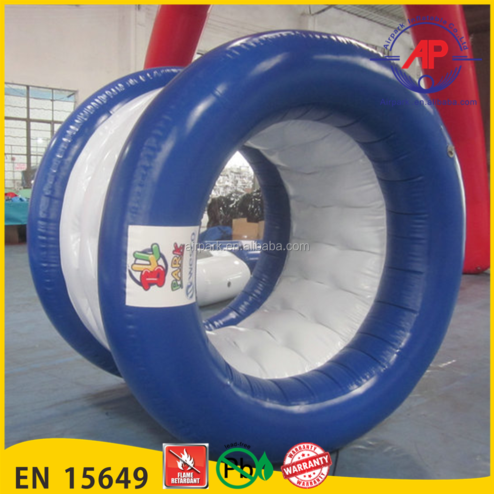 Airpark Inflatable Water Park Water Roller Wheel, Inflatable Trolley Wheel
