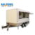 Hot sales mobile custom food cart trailer design