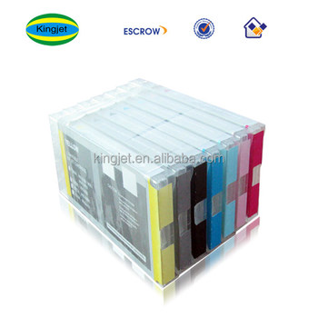 220ml Pp Material Compatible Ink Cartridges For Epson Wide Format Printer  7600/9600(easy Installation,Lasting Usage) - Buy 220ml Pp Material