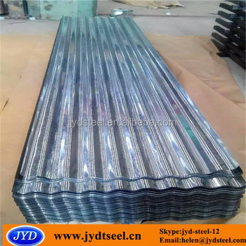 Z275g Galvanized Corrugated Metal Roofing Sheet For Roofing