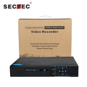 Sectec 8/16/24/32 Channel NVR 1080P CCTV NVR