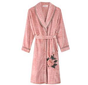 0787293bdc Yintex High quality adult dressing gown robe easy to clean coral fleece  sleepwear bathrobe