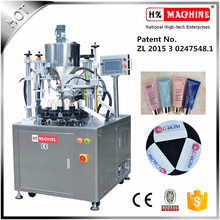Semi Automatic Aluminum Plastic Tube Filling And Sealing Machine Cosmetic Cream Tube Filling Machine With Printing