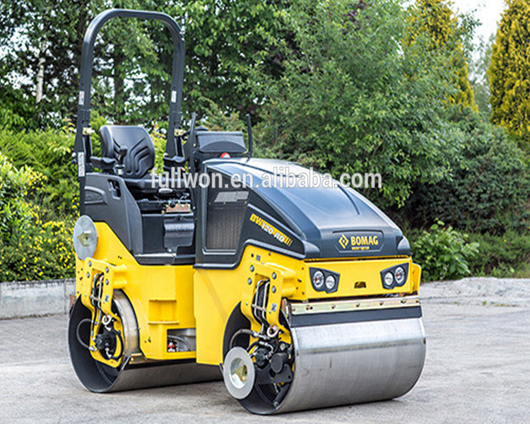 High Quality BOMAG 3ton capacity Small Construction Machinery Road Roller Compactor