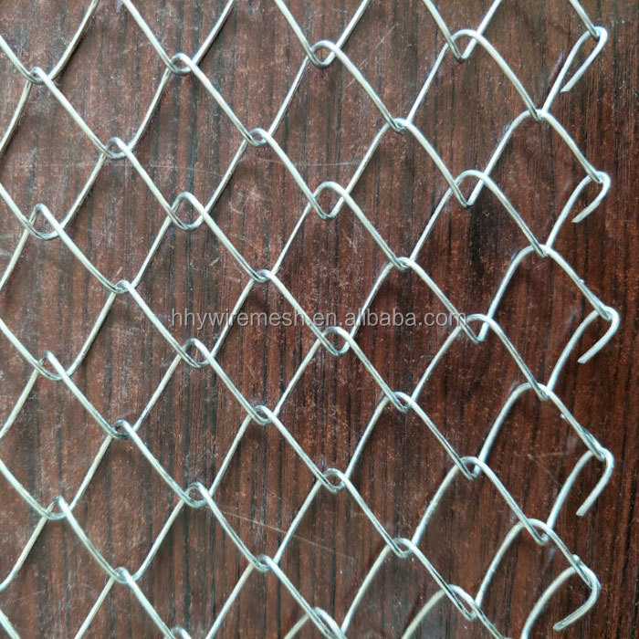 Galvanized PVC Chain Link Fence for Animal Fence pvc coated diamond chain link fence