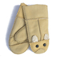 Wholesale High Quality Colors Fur Lined Leather Mittens Soft Gloves For Kids
