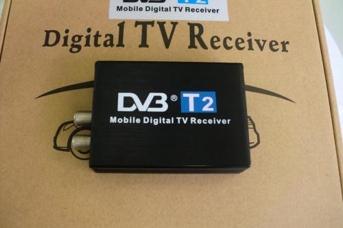 Автомобиль DVB T2 120 km / h двойной антенна H.264 MPEG4 мобильная цифровой тв приставка внешний USB DVB-T2 автомобиль телевизор приёмник
