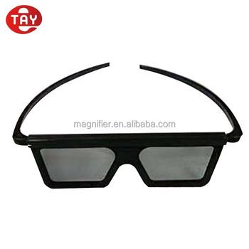 2e19e79df Atacado 3D Linear Circular de Plástico Chromadepth Óculos Polarizados