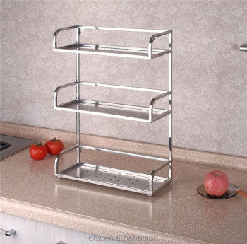Superbe Canada Style Stainless Steel Kitchen Spice Racks/storage Racks GFR 6D