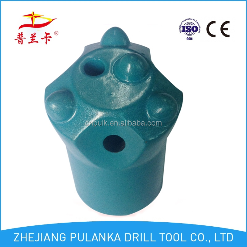 4 tips Dia 30mm ~42mm 7 degree 34mm tapered button bit/chisel bit/cross bit, rock drilling