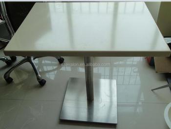 Best Price Artificial Stone Quartz Composite Restaurant Dining Table Top Coffe