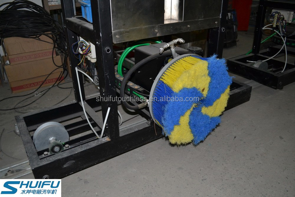 Semi automatic Touch Free Car Wash Gt m10 Shuifu Wheel