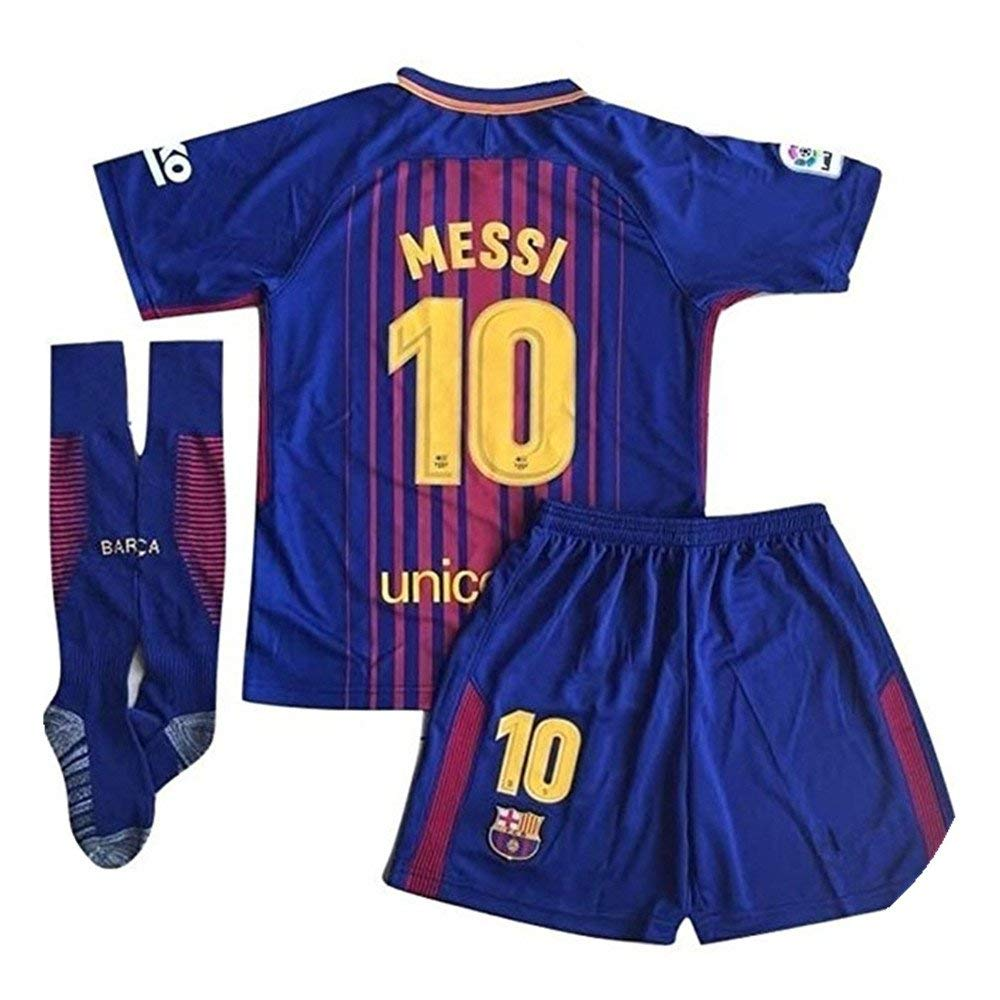 Get Quotations · SportBBY Messi  10 2018-2019 New FC Barcelona Home Jersey  for Kids Youth 00edc4124