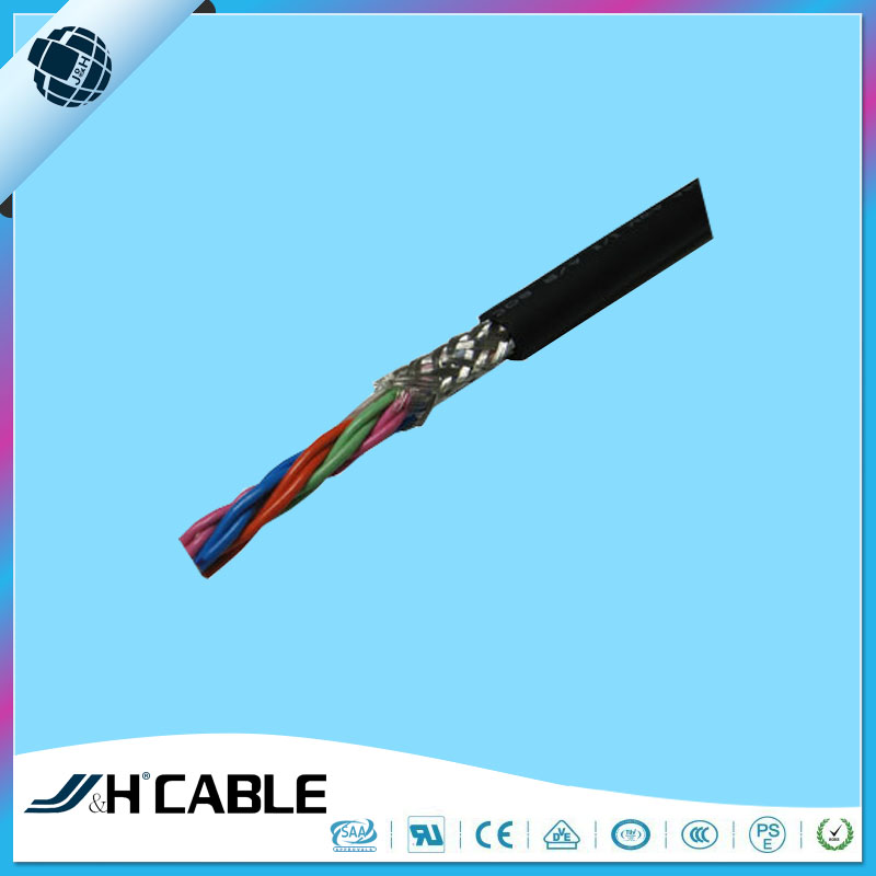 Ul Approved Flexible Pvc Insulated Cable,2/3/4 Core Shielded Twisted ...