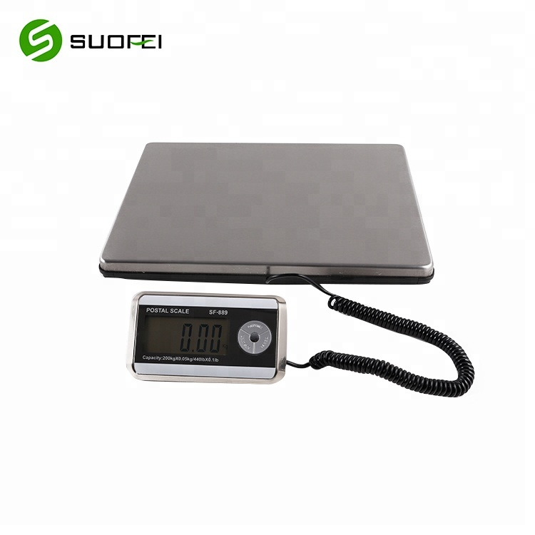 Weighstation Stainless Steel Hanging Kitchen Scale 100kg Household Weighing