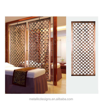 Anese Screens Black Gold Home Living Furniture Room Divider Screen