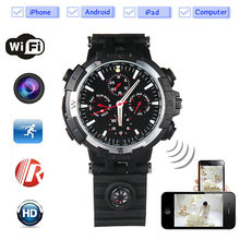 Wholesale price ir 1080p watch camera driver, smart watch with camera, 1080p hd wrist watch camera