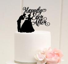 Cake Topper Bruid Bruidegom Happily Ever After 13.6*15*0.27cm