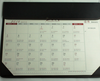 custom made high quality cmyk printing A3 size advertising table planner calendar