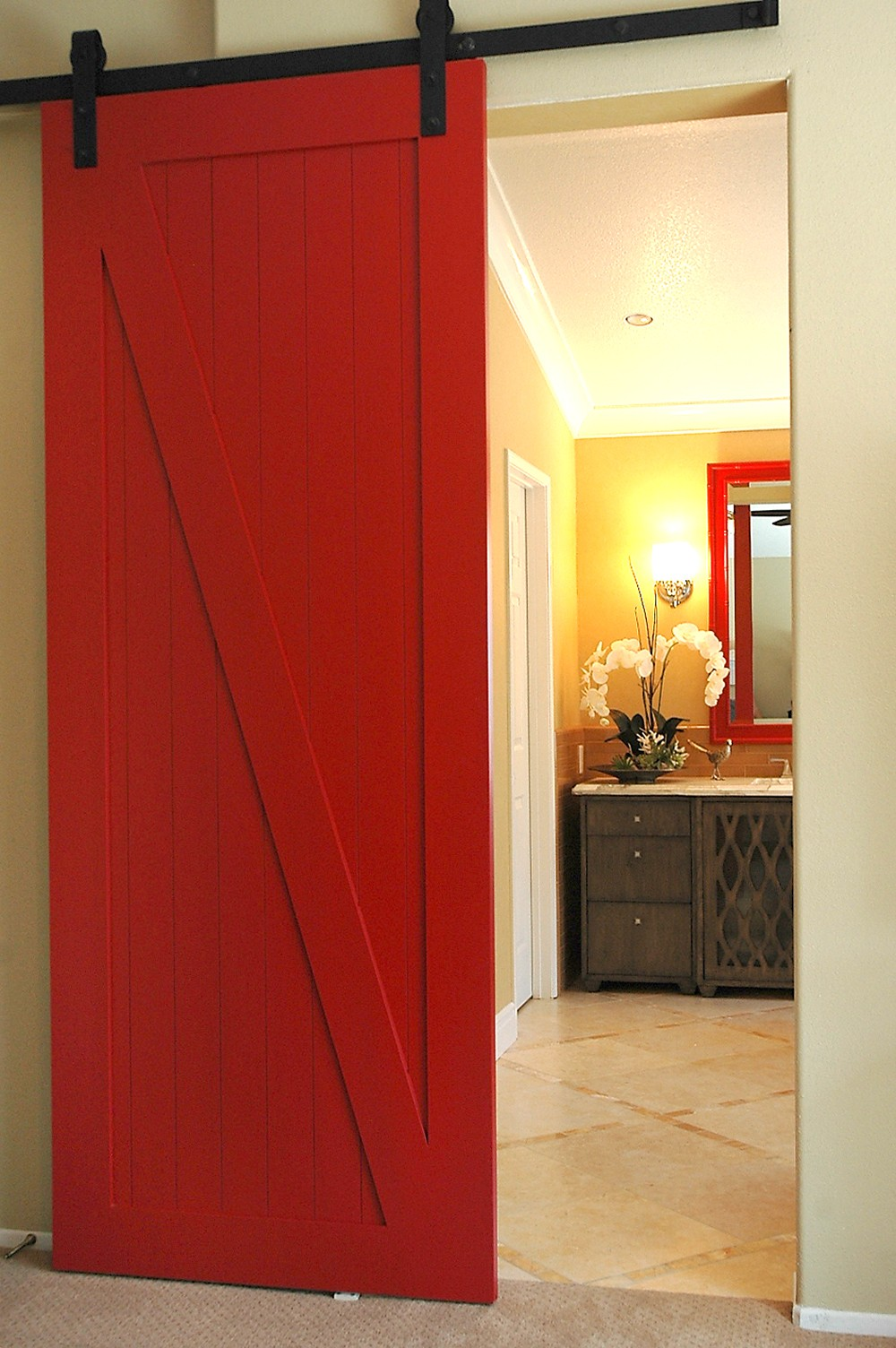 Sliding Modern Barn Door Hardware And Wood Door Buy Door