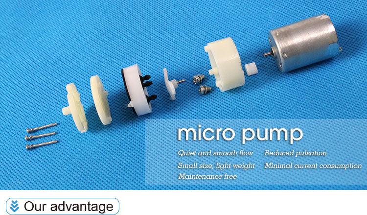 1 Bar Dc 6v Mini Air Pump Super Micro Air Pump Medical