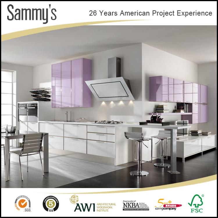 White Kitchen Cabinets Quality: Foshan High Quality Kitchen Cabinets Vietnam / Modern