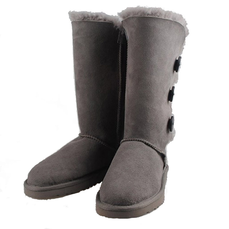 Buy Women Winter Boots Size 12 Booties Buckle Flat Knee High Boots  Sheepskin Wool Lined Shoes Australia Ug Boots Plus Size 35-45 in Cheap  Price on ... 71c071c4b1fc