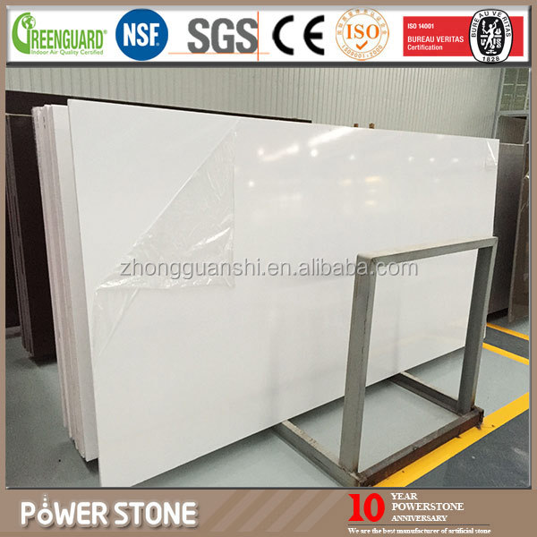 PowerStone 20mm Thickness Pure White Quartz <strong>Stone</strong>