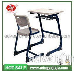 Fixed Single Desk & Chair,School Furniture,Children Table and chair