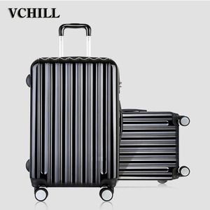 new fashion brand travel trolley ABS luggage