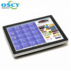 True Flat 10 points capacitive touch 15inch pos+systems /POS/pos machine