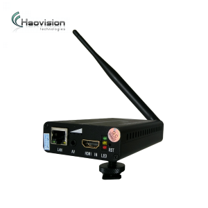 Portable hd mi/av,hd-sdi video encoder wifi with 3+hours Lithium Battery