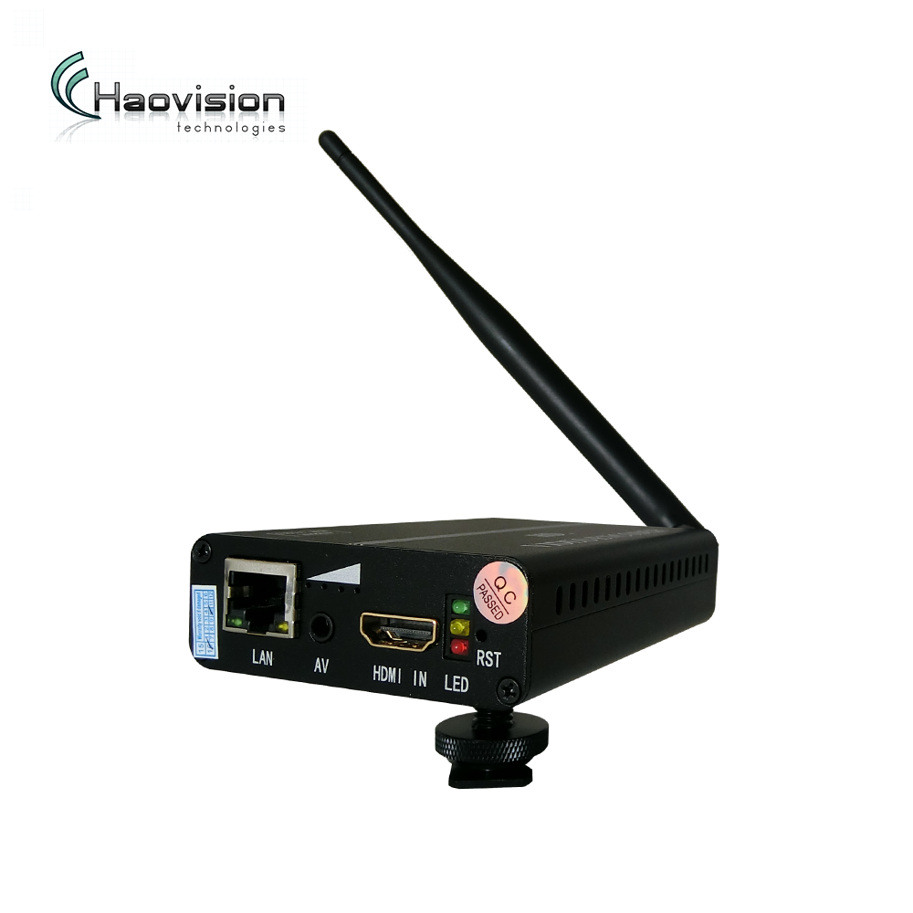 Portable hdmi/av,hd-sdi video encoder wifi with 3+hours Lithium Battery