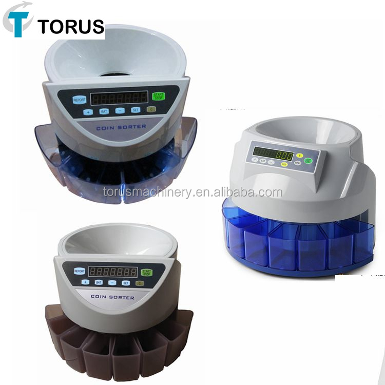 New Low Cost Plastic Coin Counting Machine With 8 - Buy ...